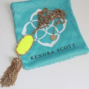 Kendra Scott Jewelry - Kendra Scott Rayne Neon Yellow Skylar Necklace